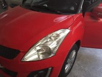 Selling Red Suzuki Swift 2017 in Caloocan