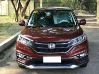 Red Honda Cr-V 2017 for sale in Automatic