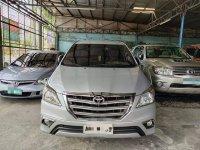 Brightsilver Toyota Innova 2015 for sale in Quezon