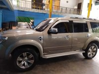 Silver Ford Everest 2013 for sale in Quezon