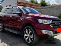 Selling Red Ford Everest 2016 in Quezon City