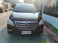 Selling Brown Toyota Innova 2015 in Manila