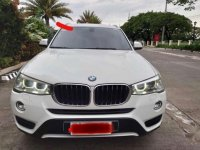 Selling White BMW X3 2015 in Quezon City