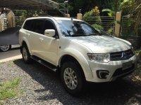 Pearl White Mitsubishi Montero 2015 for sale in Manila
