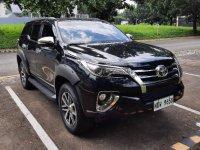 Selling Black Toyota Fortuner 2016 in Manila