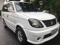 Selling Pearl White Mitsubishi Adventure 2005 in Quezon