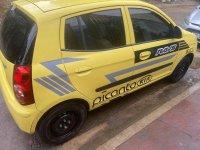 Yellow Kia Picanto 2008 for sale in Marikina