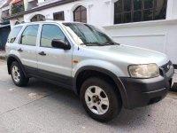 Brightsilver Ford Escape 2005 for sale in Manila