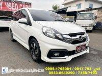 Selling White Honda Mobilio 2016 in Cainta