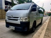 Silver Toyota Hiace 2016 for sale in Quezon