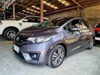 Silver Honda Jazz 2017 for sale in Quezon