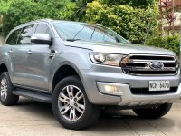 Brightsilver Ford Everest 2016 for sale in Las Pinas