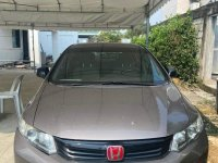 Grey Honda Civic 2012 for sale in Manual