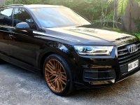 Selling Black Audi Q7 2020 in Malabon