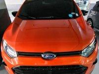 Selling Orange Ford Ecosport 2016 in Makati