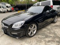 Black Mercedes-Benz SLK200 2012 for sale in Manila