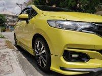 Selling Yellow Honda Jazz 2018 in Quezon