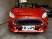 Sell Orange 2016 Ford Fiesta in Parañaque