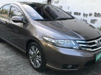 Silver Honda City 2013 for sale in Pasig