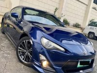 Blue Toyota 86 2013 for sale in Manual