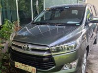 Grey Toyota Innova 2018 for sale in Automatic
