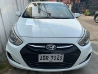 Selling White Hyundai Accent 2015 in Las Piñas