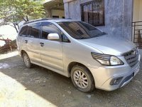 Silver Toyota Innova 2015 for sale in Calumpit