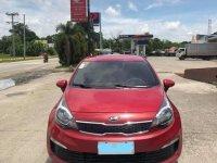 Red Kia Rio 2016 for sale in Caloocan