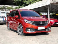 Red Honda Mobilio 2018 for sale in Automatic