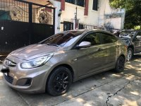 Grey Hyundai Accent 2014 for sale in Automatic