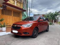 Orange Chevrolet Sail 2017 for sale in Automatic