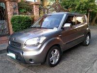 Silver Kia Soul 2011 for sale in Las Pinas