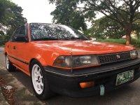Selling Orange Toyota Corolla 1989 in Dasmariñas