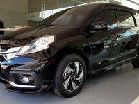 Selling Black Honda Mobilio 2015 in Las Piñas