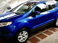 Blue Ford Ecosport 2016 for sale in Pateros