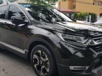 Black Honda Cr-V 2018 for sale in Las Piñas