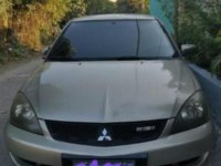 Silver Mitsubishi Lancer 2008 for sale in Automatic