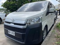 Sell White 2020 Toyota Hiace in Quezon City