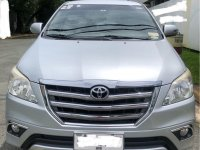 Silver Toyota Innova 2015 for sale in Muntinlupa