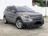 Silver Ford Explorer 2014 for sale in Parañaque