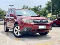 Red Subaru Forester 2010 for sale in Makati