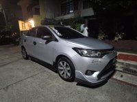 Brightsilver Toyota Vios 2013 for sale in Quezon