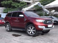 Red Ford Everest 2018 for sale in Automatic