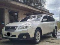 Sell Pearl White 2014 Subaru Outback in Rizal