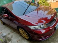 Red Honda Civic 2012 for sale in Manila