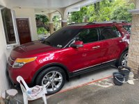 Red Ford Explorer 2013 for sale in Muntinlupa