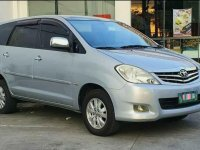 Silver Toyota Innova 2009 for sale in Automatic