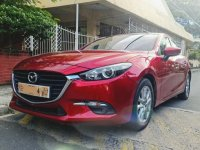 Red Mazda 3 2018 for sale in Automatic