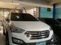 Sell White 2013 Hyundai Santa Fe in Imus