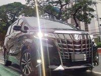 Selling Black Toyota Alphard 2020 in Quezon City